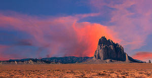 Sunrise at Shiprock - New Mexico