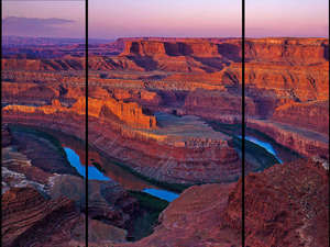 Sunrise - Dead Horse Point Triptych
