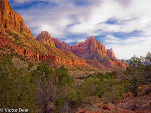 Watchman Tower - Zion N.P.